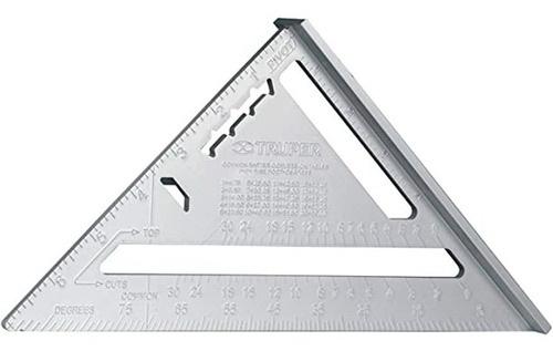 """Угольник Свенсона многофункциональный алюминиевый. 12"""" (305мм) толщина 5 мм. Truper 15132"""
