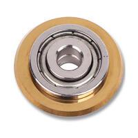 Ролик для плиткореза FULLER  22х6х2 с подшипником 5 алмазов