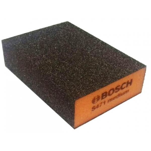 Bosch губка 69x97x26мм medium b.f. flat and шлифование