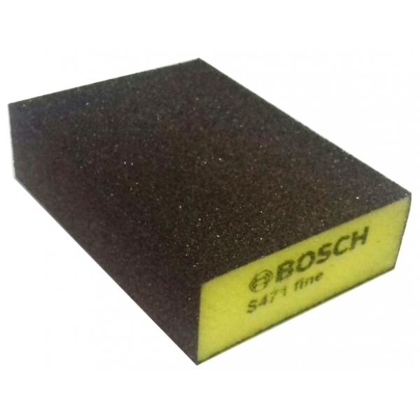 Bosch губка 69x97x26мм fine b.f. flat and шлифование