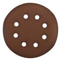 Шлифовальные круги под липучку 8 отверстий, 180 мм P 180,1 шт.