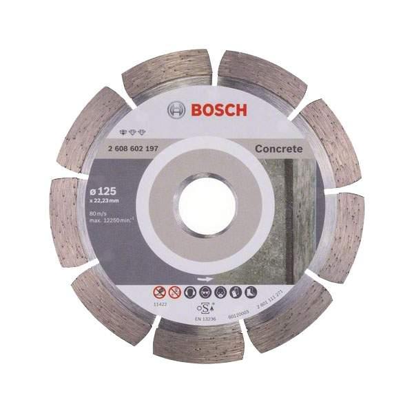 Bosch алмазный диск professional for concrete125-22,23 алмазные отрезные круги