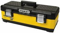 """Stanley ящик для инструмента """"stanley"""" металлопластмассовый желтый (23080) 23"""" / 59,2 x 30,3 x 89,3cm (1-95-613)"""