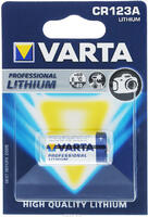 Элемент питания VARTA Professional Lithium CR123A