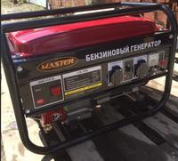 Генератор бензиновый Master 3500 Номинальная мощность: 2,7 кВт.