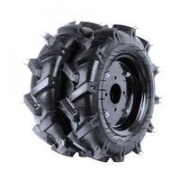 Комплект пневмотических колес на мотоблок и культиватор 4.00-8 ёлочка