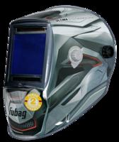 FUBAG Маска сварщика «Хамелеон» ULTIMA 5-13 Panoramic Silver (зона обзора 100 мм х 93 мм)