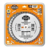 Комплект из 2-х дисков CMT 250x2.6/1.8x30 Z24+40 ATB