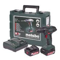 Дрель-шуруповерт Metabo BS 14.4 10мм 2.0Ah x2 Case