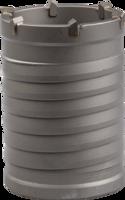 Коронка ЗУБР буровая, конусная посадка, без оснастки, d=73мм, L=100мм