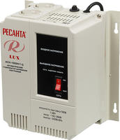 Стабилизатор напряжения однофазный РЕСАНТА LUX АСН-1000Н/1-Ц (1 кВт)