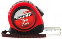 Рулетка Matrix Status autostop magnet, 7,5 м х 25 мм