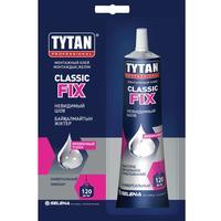 Tytan Professional клей монтажный Classic Fix прозрачный 100мл, блистер