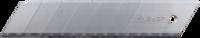 """Лезвия ЗУБР """"ПРОФЕССИОНАЛ"""" сегментированные, улучшенная инструментальная сталь У8А, в боксе, 25 мм, 5шт"""