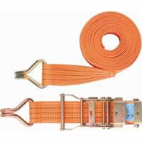 Ремень багажный с крюками, 0,05х6м, храповый механизм// STELS Россия