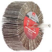Круг лепестковый для дрели, 80 х 30 х 6 мм, P 120// Matrix