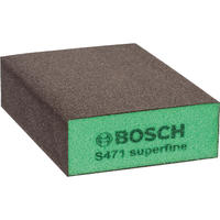 Bosch губка 69x97x26мм super fine b.f. flat and шлифование