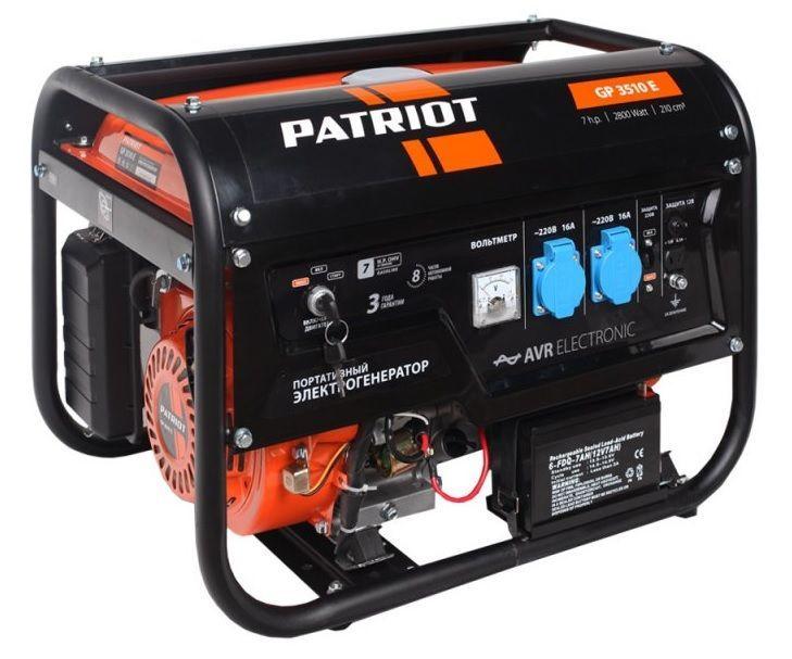 Бензиновая электростанция PATRIOT GP 3510E 474101540