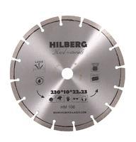 Диск алмазный hilberg 230x10x22.23 по бетону HM106