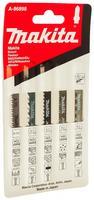 Универсальный набор пилок для лобзика 5 шт. Makita A-86898