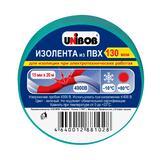 Unibob изолента 15х20мм Зеленая
