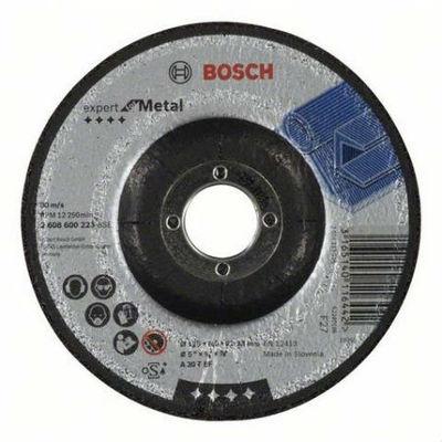 Bosch обдирочный круг металл 125х6 мм отрезные и обдирочные круги
