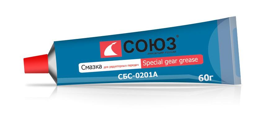 СБС-0201А Смазка для редукторных передач СОЮЗ Special gear grease, 60г