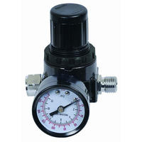 Регулятор давления c манометром Pegas 4602