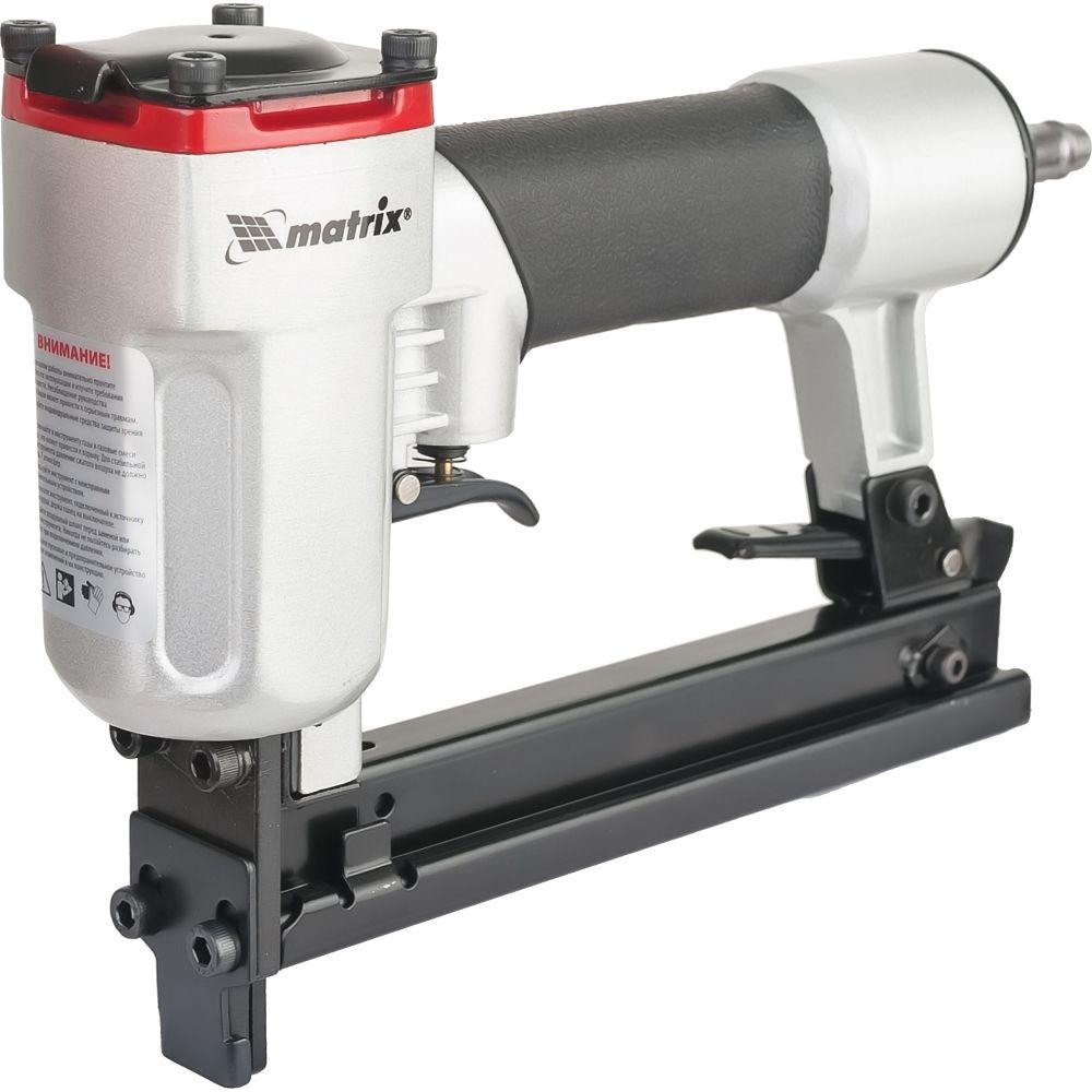 Степлер пневматический для прямоугольных скоб от 10 до 22 мм// MATRIX