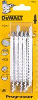 Пилка дер.HCS 116х91х2-3х65мм, T234X 5шт DeWalt