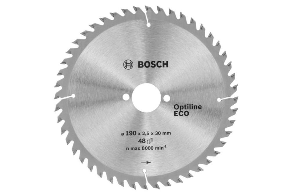 Диск пильный по древесине 190x30 мм Bosch 2.608.641.790