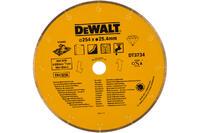 DeWalt Алм.круг сплошной универс.мокр.250х25.4,h=5мм