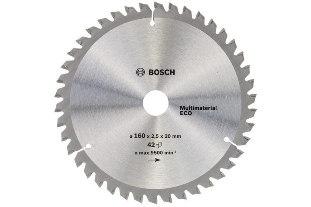Диск пильный универсальный 160x20 мм Bosch 2.608.641.800