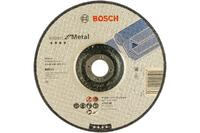 Bosch отрезной круг металл 180х3 мм вогн отрезные и обдирочные круги