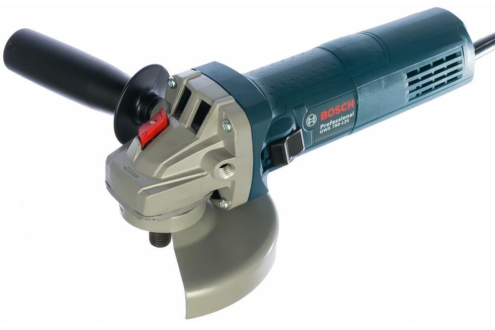 Угловая шлифмашина Bosch GWS 750-125 0.601.394.0R3