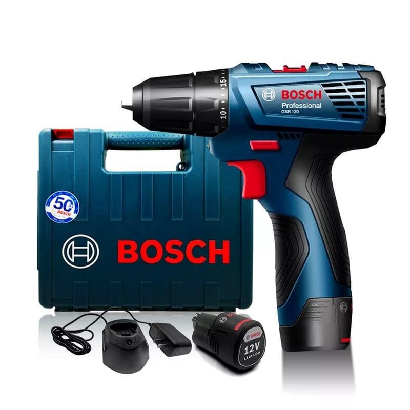 Аккумуляторная дрель-шуруповерт Bosch GSR 120-LI 06019F7001