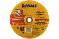Круг отрезной по металлу (230х22.2х2,8 мм, тип 42) DEWALT DT43913