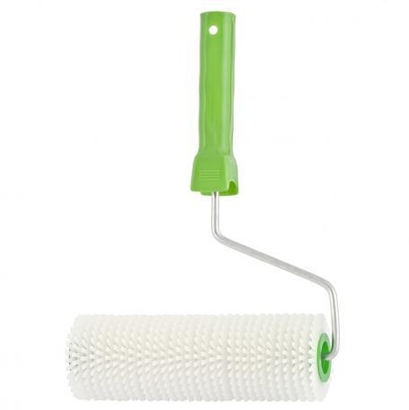 Валик игольчатый для наливных полов с ручкой, 240 мм// Сибртех