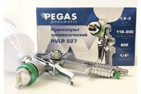 Краскопульт Pegas HVLP827 сопло 1.4 мм, 2712