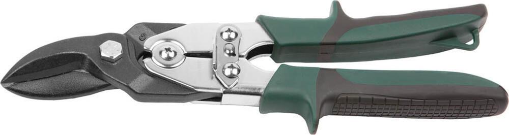 """Ножницы по твердому металлу KRAFTOOL """"SUPER-Kraft"""" 260мм, правые, с двойн рычаж передач,Cr-MO, режущ способн: холоднокат сталь-1,5мм, нерж сталь-0,9мм"""