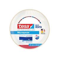 Универсальная малярная лента TESA 36 мм х 50 м белая