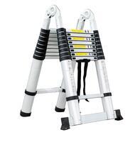 Лестница-стремянка телескопич. МИ 2.2м/4.4м 7ступ