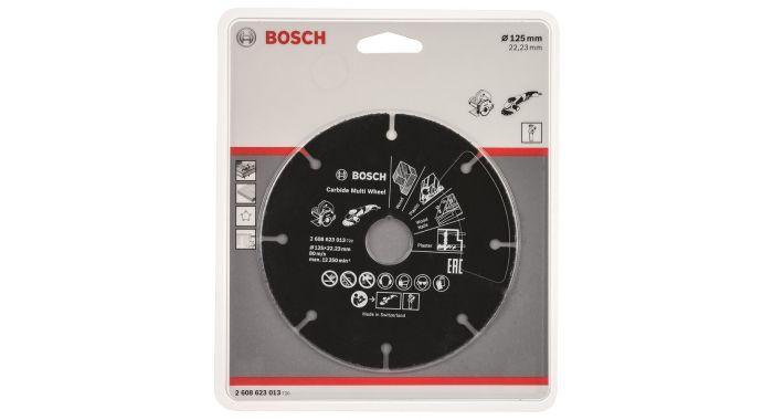 Круг отрезной универсальный (125х22.2 мм) Bosch 2608623013