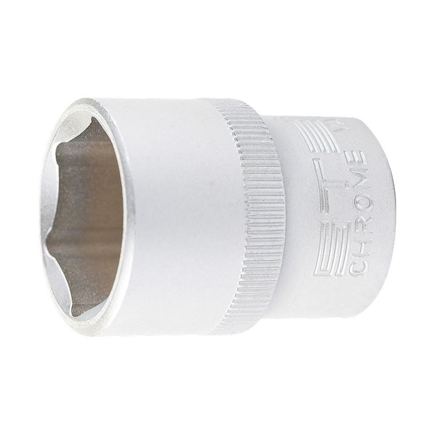 "Головка торцевая, 32 мм, 6-гранная, CrV, под квадрат 1/2"", // STELS"
