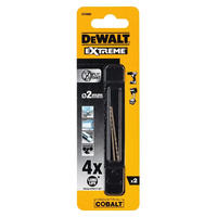 Сверло по металлу 2 шт. COBALT 8% (2х49х24 мм) Dewalt DT4900