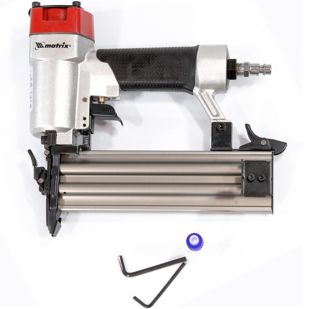 Нейлер пневматический для гвоздей от 10 до 50 мм// MATRIX
