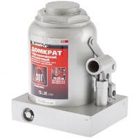 Домкрат гидравлический бутылочный, 30 т, h подъема 240–370 мм// MATRIX MASTER