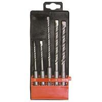 Набор буров по бетону, 5-6х110, 6-8-10х160 мм, 5 шт., в пласт. коробке, SDS PLUS// MATRIX 71095