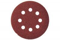 Шлифовальные круги под липучку 8 отверстий, 180 мм P 120,1 шт.