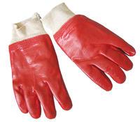 перчатки бензостойкие красные